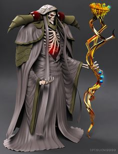 Overlord - Momonga(wip2) by tetsuok9999.deviantart.com on @DeviantArt