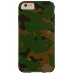Military camouflage patterns v12 tough iPhone 6 plus case