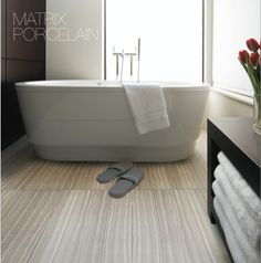 Matrix Porcelain - Sleek Wood Look
