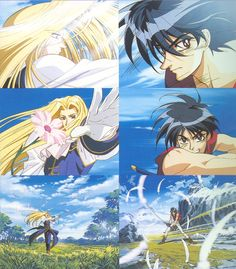 The Vision of Escaflowne ( I wish van could be real <3 )