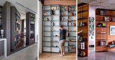 Porte bibliothèque qui dissimule un passage secret, réveillez l'espion en vous!
