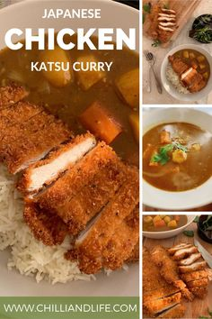 Chicken Katsu Sauce, Chicken Katsu Curry Recipes, Japanese Chicken, Hottest Curry, Curry Dishes, Delicious Dinner Recipes, Spicy, Cooking Recipes, Favorite Recipes