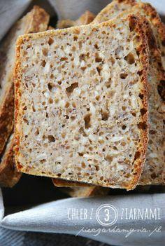 Chleb na zakwasie z 3 ziarnami (12 h)
