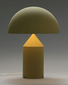 Vico Magistretti's Atollo Table Lamp,1977.