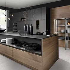 modern luxury kitchen design ideas that will inspire you 5 Kitchen Room Design, Kitchen Cabinet Design, Home Decor Kitchen, Interior Design Kitchen, Kitchen Furniture, Home Kitchens, Luxury Kitchens, Urban Kitchen, Modern Kitchen Cabinets