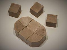 Schale Quintus Beton Design Modular Magnetic von ConcreteArtBerlin