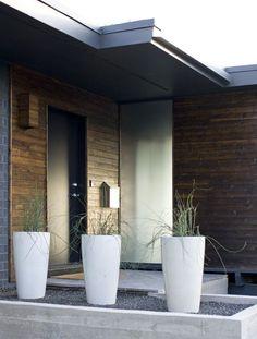 Utah Modern Homes for Sale - dark walnut makes it! | Modern House Designs