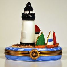 Anderson's Nantucket - Limoges Box