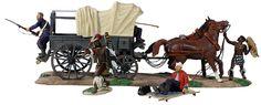 """Overrun"" British 24th Foot Ambulance Overrun by Zulu Warriors"