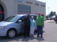 Saturday July 7, Harvey and Peggy from Bailey NC are taking home this brand new 2012 Chrysler Town and Country. Thank you Harvey and Peggy for your business. Their salesman is Tony Oxendine.