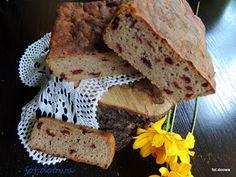 Moje Małe Czarowanie: Chleb żytni na zakwasie najprostszy z żurawiną