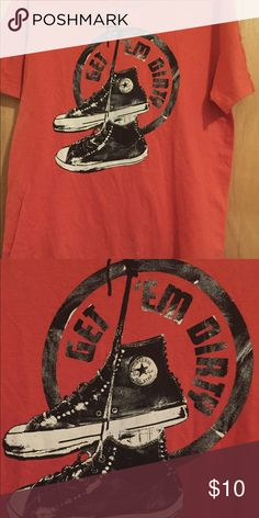 72673404 Converse All Star t shirt Size Med Converse All Star t Shirt. In good clean  condition.