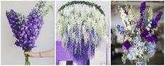 delphinium - aranjamente florale nunta alb-lila-mov - flori in culoarea anului 2018: ultraviolet Glass Vase, Home Decor, Decoration Home, Room Decor, Home Interior Design, Home Decoration, Interior Design