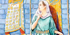 Learn more about Esther. Print, cut, and save your favorite Bible characters. Collectible Bible cards for kids. Jw Pioneer, Pioneer Gifts, Esther Bible, Story Of Esther, Bible 2, Kings Of Israel, Bible Teachings, Kids Cards, Disney Characters