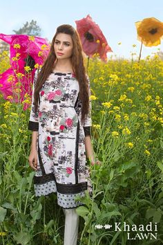 Khaadi Lawn Unstitched Wet On Wet Paint Collection 2016