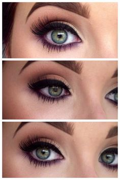 The Best Makeup For Green Eyes! #eye_makeup