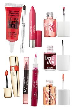 8 Best Lip Stains for Sexy Spring & Summer 2014