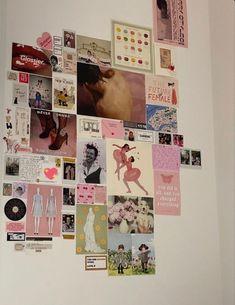 Room Ideas Bedroom, Bedroom Inspo, Bedroom Decor, Chambre Indie, Uni Room, Pretty Room, Room Goals, Aesthetic Room Decor, Pink Aesthetic