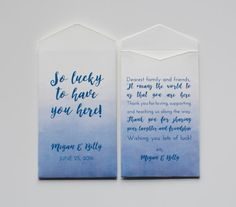 Wedding Guest Favors - Wedding Lottery Ticket - Wedding Favors ...