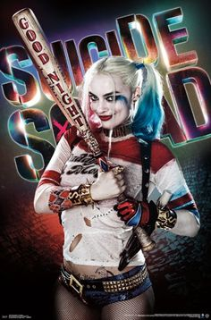 Suicide Squad Harley Quinn Poster