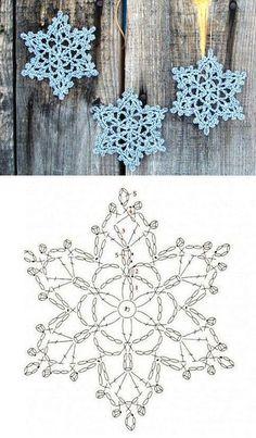 Wonderful DIY Crochet Snowflakes With Pattern - Her Crochet Crochet Diy, Thread Crochet, Crochet Motif, Crochet Doilies, Crochet Flowers, Crochet Ideas, Crochet Cape, Crochet Gratis, Simple Crochet