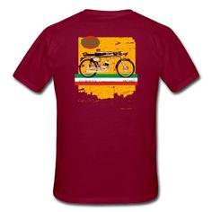 mondial cafe racer Men's Premium T-Shirt Custom Tees, Bespoke Design, Men Fashion, Ipod, Unique, Mens Tops, T Shirt, Style, Custom Design