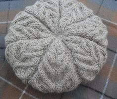 """Beret from """"Drops"""" . Discussion on LiveInternet - Russian Online Diaries Service Baby Patterns, Knitting Patterns, Crochet Patterns, Crochet Baby, Knit Crochet, Crochet Flower Tutorial, Knitting Accessories, Knitting Needles, Knitted Hats"""