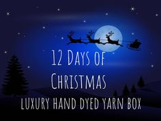 Your place to buy and sell all things handmade Christmas Ghost, Christmas Yarn, Victorian Christmas, 12 Days Of Christmas, Traditional Christmas Food, Parlor Games, Hand Dyed Yarn, Stitch Markers, Christmas Traditions