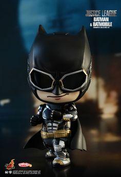 Hot Toys : Justice League - Batman & Batmobile Cosbaby (S) Collectible Set Batman Vs Superman, Batman Batmobile, Spiderman Art, Batman Wallpaper, Avengers Wallpaper, Justice League, Batman Costumes, Chibi Marvel, Avengers Cartoon