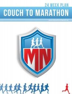 FREE Couch To Marathon Plan 24 Weeks