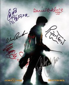Harry Potter in the Goblet of Fire Cast Signed Autographed 8 X 10 RP Photo - Mint Condition @ niftywarehouse.com #NiftyWarehouse #HarryPotter #Wizards #Books #Movies #Sorcerer #Wizard