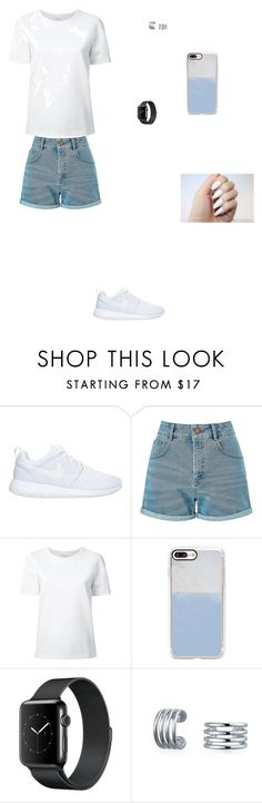 """Без названия #1361"" by nika-memmedova ❤ liked on Polyvore featuring NIKE, Miss Selfridge, Lemaire, Casetify and Bling Jewelry"