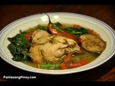 Sinampalukang Manok Recipe
