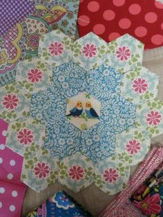 The beginning of EmmaMary quilt
