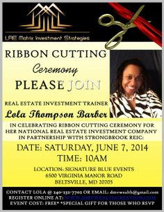 Lola Barber Opens LRE Matrix Investment Strategies with Celebrity Ribbon Cutting Ceremony