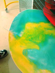 candice ashment art: eArTh eGg - DIY corn syrup paint {tutorial}
