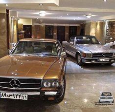 Mercedes Benz C107 & R107 in#iran . به كانال تگرام ما بپيونديد لينك كانال در قسمت اصلى پيج⬆️ . Tag your#friends . @mashin.classic . .…