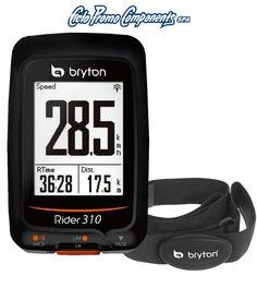 Il nuovo ciclocomputer #Bryton Rider 310H con fascia cardio distribuito da #CicloPromoComponents // #Ciclismo #bicicletta #bici #bike #faidate #outdoor #cycling #gps