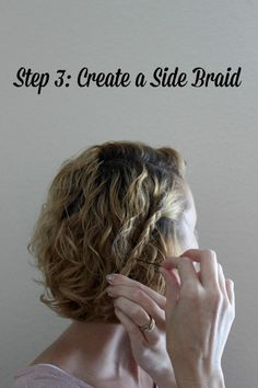 Quick and Easy 3-Step Hairstyle Idea for Short Hair