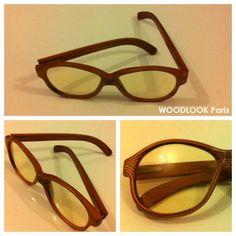 VINTAGE - WOODLOOK Paris - glasses - (wood) by CareBears on piiqshop!    http://www.piiqshop.com/vintage/woodlook-paris.html