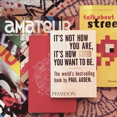 Inspiration #Amateurmag Moleskine, Street Art, Day, Instagram Posts, Books, Inspiration, Design, Biblical Inspiration, Libros