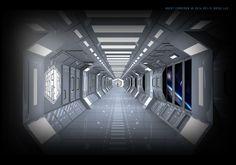 Sci-Fi Hotel® Guest Corridor Concept
