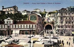 Piazza Goldoni verso San Giusto