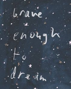 ʙᴇ ʙʀᴀᴠᴇ ᴇɴᴏᴜɢʜ ᴛᴏ ᴅʀᴇᴀᴍ. . . . . #brave #dream #sleep #goodnight #gn #night #sky #universe #galaxy #stars #quotes #quote #motivation #motivationalquotes #inspiration #inspirationalquotes #art #illustration #love #goforit #ночь #мечты #мечтай #спокойнойночи #вселенная #звезды #звезда #небо
