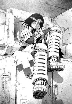 gunnm manga page - Recherche Google
