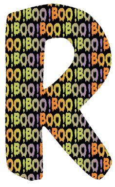 CH.B *✿*Letras BOO !.de katia Arte....R