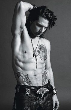 """Tom Cruise as his character Stacee Jaxx from his upcoming movie """" Rock of Ages"""" for W magazine [June 2012]-The Man has still Got IT!!!!!-I agree!"""