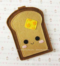 """manga iPhone, sintió la manga iPhone, caso del iPhone, sintió el caso del iPhone, la bolsa de iPhone, manga 5c iPhone, caso 5c iPhone, """"diseño de la tostada del pan"""""""