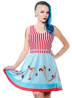 SOURPUSS DAY AT THE SHORE DRESS