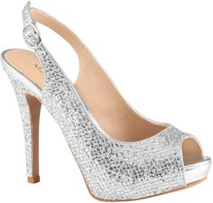 Silver Sequin Pumps by Aldo. Buy for $54 from Aldo